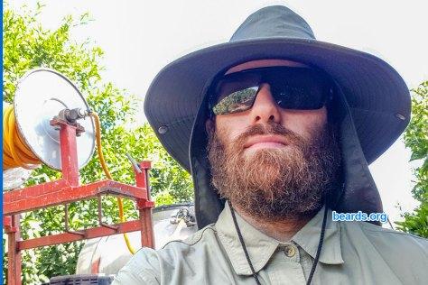 Michael's beard in August 2020