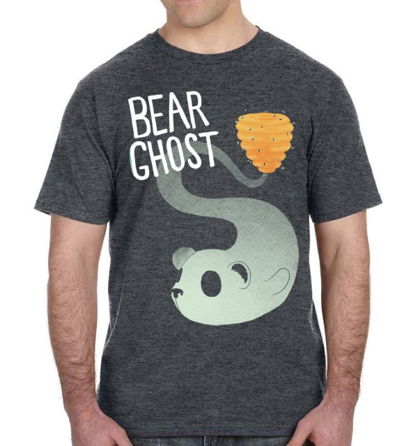 Bear Ghost Bear Hive T-Shirt