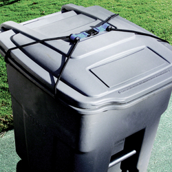 Raccoon Proof Your Garbage Can With Our Lidlock Strap