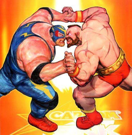Versus Zangief em Capcom vs SNK