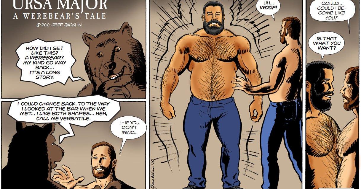 Os ursos musculosos de Jacklin Jeff