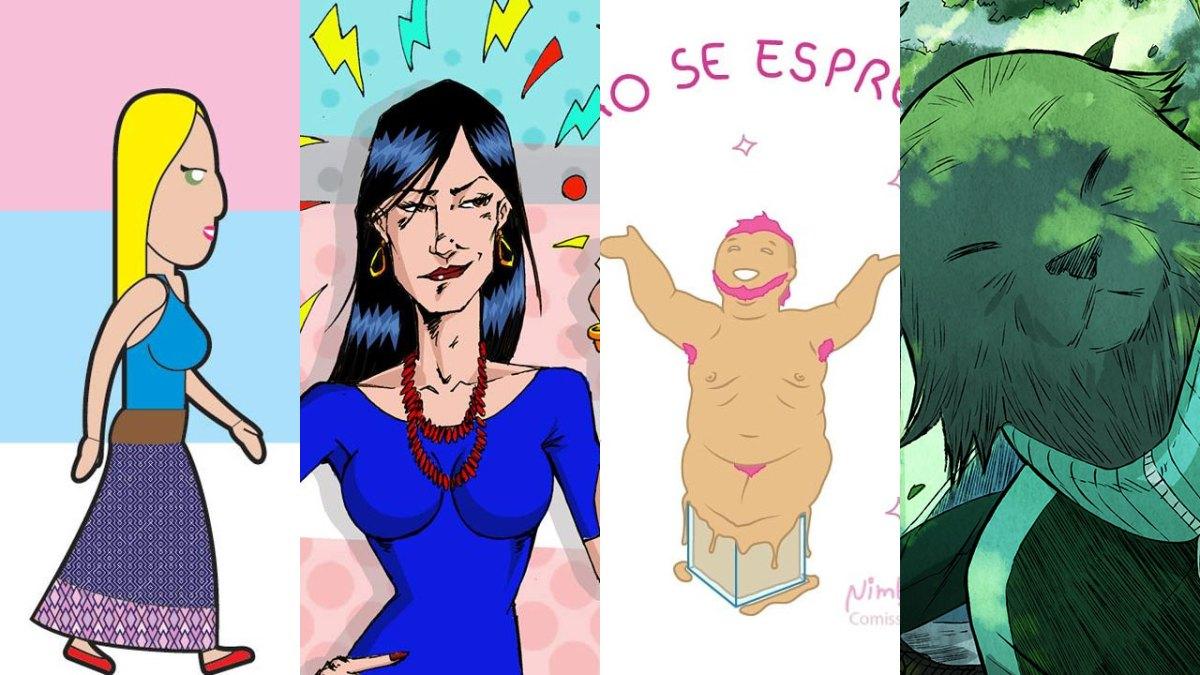No Dia Nacional da Visibilidade Trans, 4 quadrinhos para você acompanhar de perto