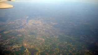 Barcelona 2010 - Hamburg från luften