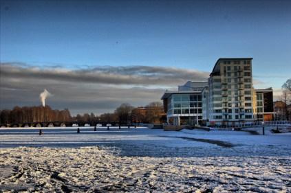 2012_13 - Klarälven, östra grenen, Karlstad