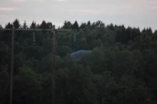 Krashlandningen är fullbordad nånstans ute i Alsterskogen