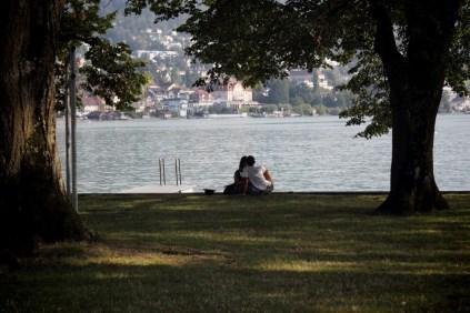 Kärlek i Zug, Schweiz