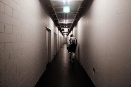 Dave Liffiton lämnar arenan