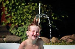 Vatten är roligt att fota