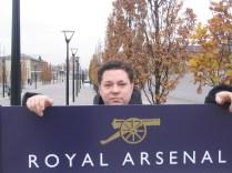Eriksson och Royal Arsenal