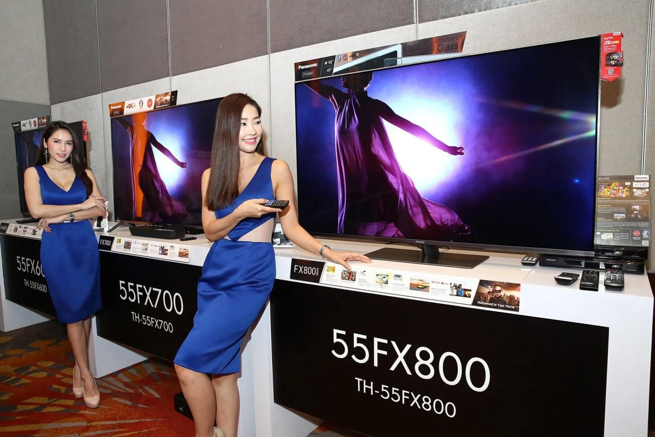 Panasonic เผย TV 4K รุ่นล่าสุดเน้นความสามารถด้าน Video on