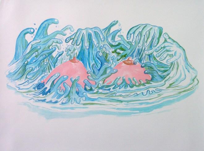île de Sein, Dessin à l'encre - 2010 courtesy the artist