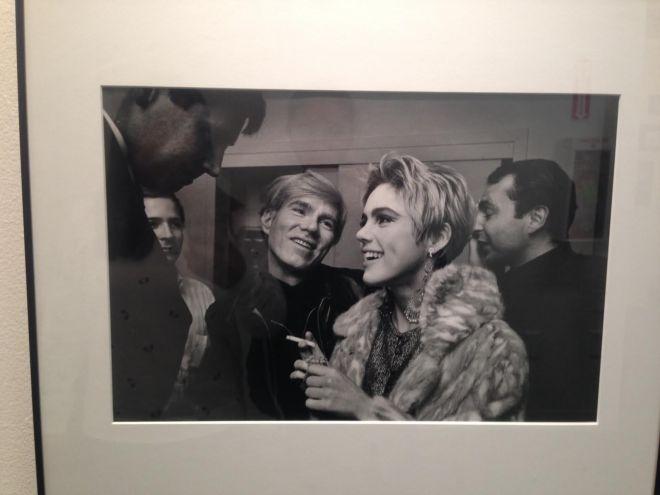 """Monroe Gallery - Steve Schapiro """"Andy Loves Edie """" Andy Warhoal and Edie Sedgewick, NY 1965"""