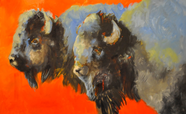 Even Buffalo Get the Blues by Linda St. Clair