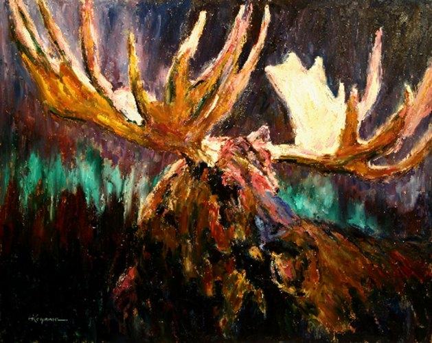 Jackson's Moose by Harry Koyama