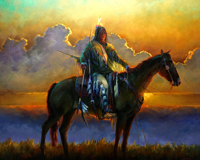 Stole Horse 36×45 oil