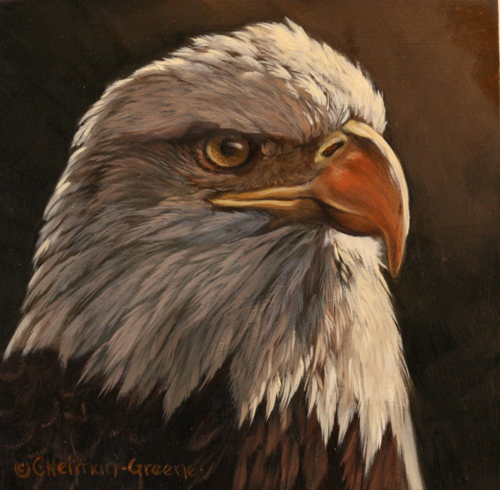 BT - Bald Eagle by Carol Green Heiman