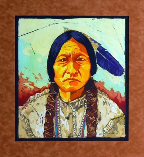 Sitting Bull by Echo Ukrainetz