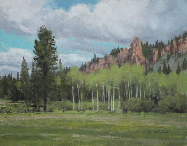 Aspens & Spires by Jerry Inman