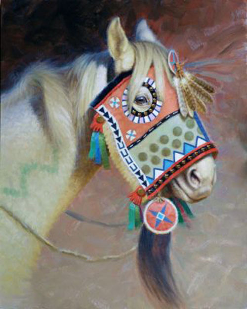Crow Thunder Horse by Tom Saubert