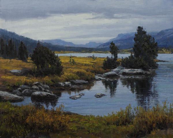 Island Lake by Jerry Inman