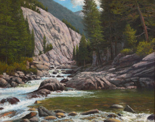 Stillwater Canyon by Jerry Inman