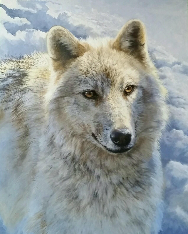 Lone Wolf by Bonnie Marris