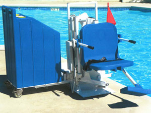 Pool Chair Lift for Red Lodge Community Pool