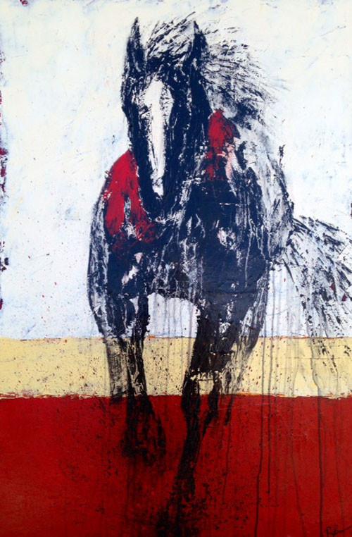 Red Spirit Rider by Ryan Brown
