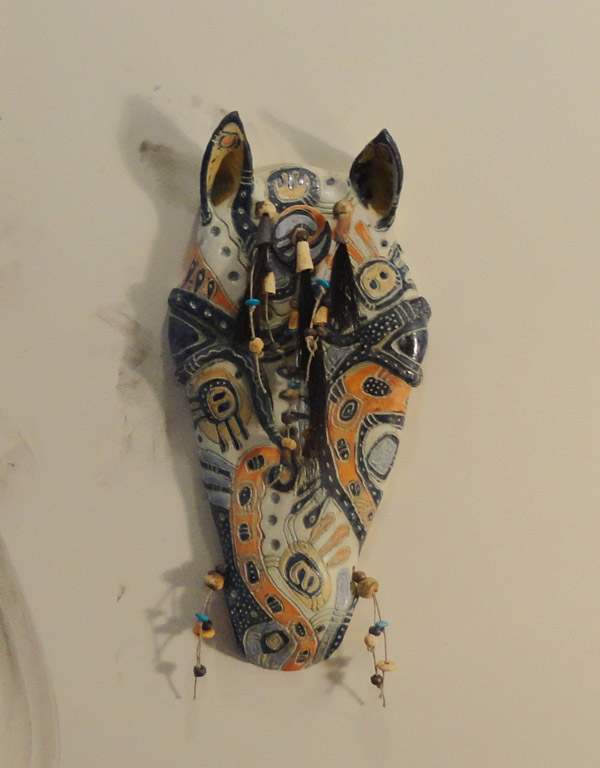 Horse Mask II by Christine McKay