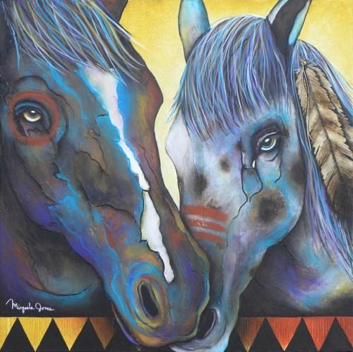 Painted Ponies by Micqaela Jones