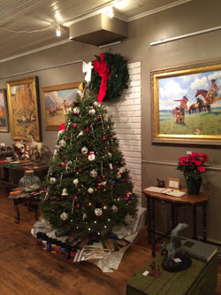 Christmas Stroll at the Beartooth Gallery in Red Lodge, MT