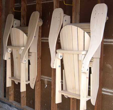 adjustable adirondack chair plan