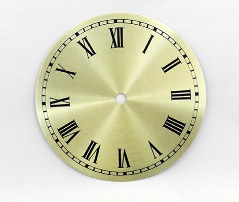 Gold Roman Metal Clock Dials 6