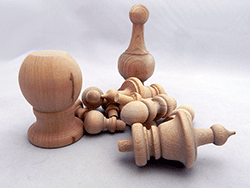 Wood Ball Knobs Buy Hardwood Ball Knobs In Many Sizes Bear Woods Supply