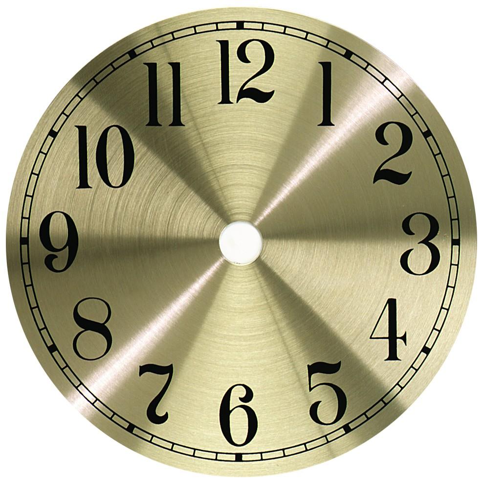 Gold Arabic Metal Clock Dial 7