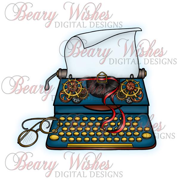 SP-Typewriter-WM-BLue