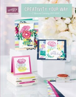 stamping up, ANNUAL catalog 2017-2018, Ann
