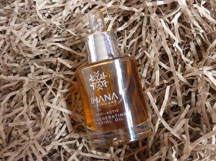 Review: Ihana Beri-Activ Regenerating Facial Oil bottle