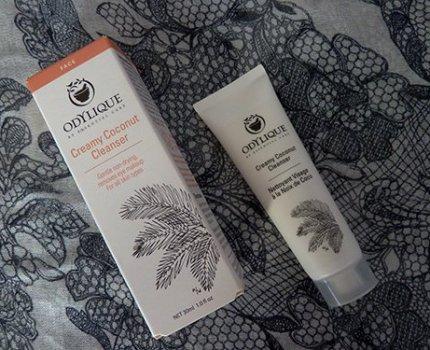 Review: Odylique Creamy Coconut Cleanser