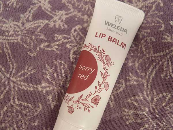 Weleda Tinted Lip Balm Berry Red