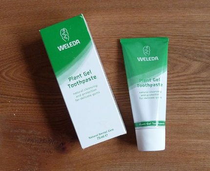 Review: Weleda Plant Gel Toothpaste 75ml