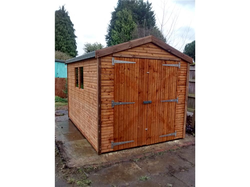 Easy Erect Garden Shed