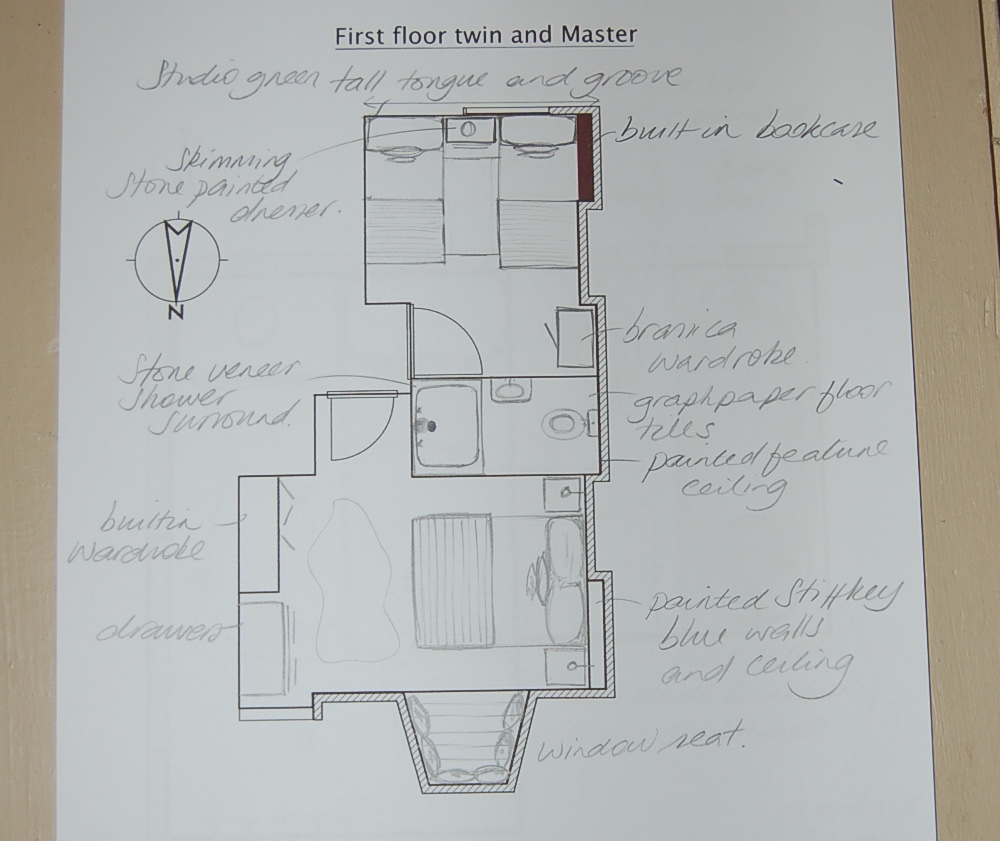 Master and Twin with new ensuite