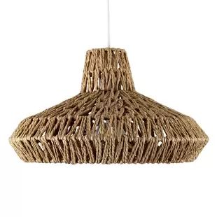 Natural pendant shade