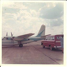 Small Plane and Suburban