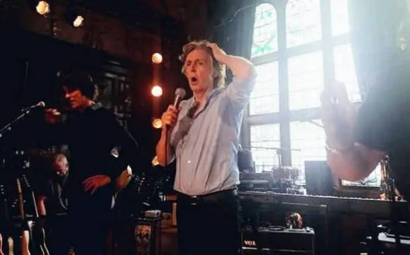 Paul McCartney live at the Philharmonic pub, Liverpool, 9 June 2018