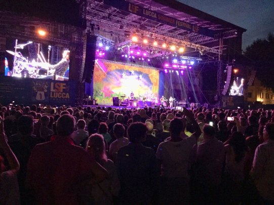 Ringo Starr live in Lucca, Italy, 8 July 2018
