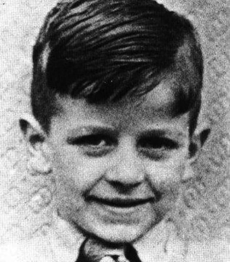 Ringo Starr Richard Starkey As A Child In The 1940s