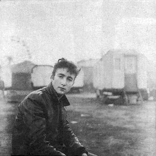 John Lennon in Hamburg, 1960