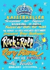 Poster for The Beatles at the Kaiserkeller, Hamburg, 1960